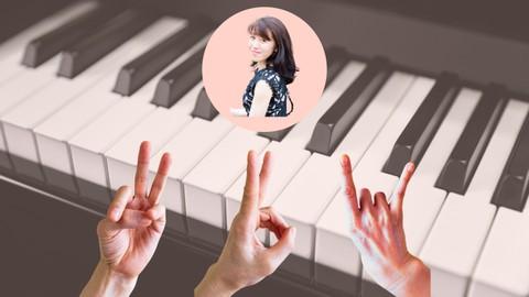 脳トレ・指トレ・ピアノの手! Brain,Finger,Hand Shape Training!!