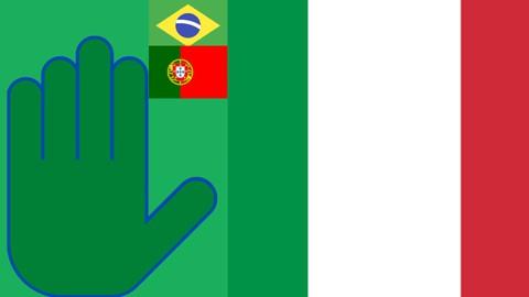 Italiano 5 palavras - Curso 2 em português