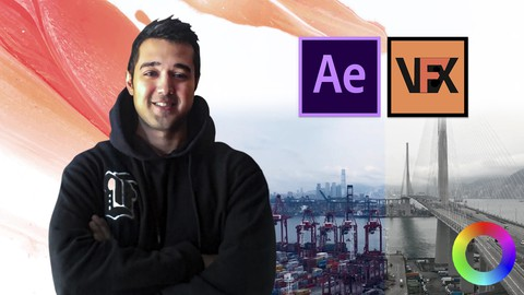 After effects Color Correction & Cinematic Color Grading