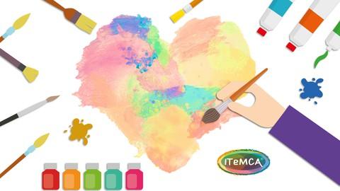 Arteterapia y Autoestima: Mi paleta de colores personal