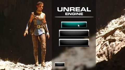 Unreal Engine 5 - Learn to Make a Professional Main Menu
