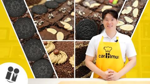 Cara Membuat Variasi Topping Brownies dan Birthday Cake