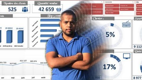 Microsoft Excel : Conception Tableau de bord