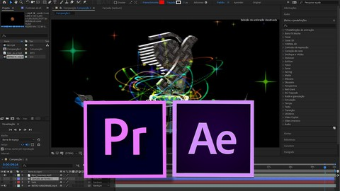 COMBO After Effects + Premiere - Para Design gráfico