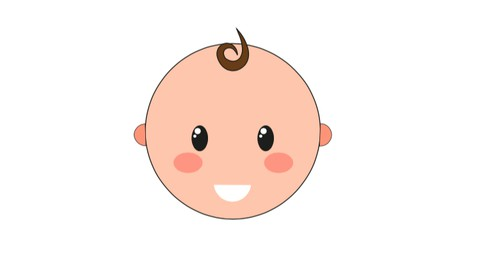 Basic creation and animation of a baby in illustrator and AE