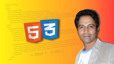 Learn Complete HTML5 & CSS3 : Build Responsive Websites