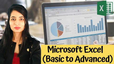 Microsoft Excel - Beginners to Advanced Level