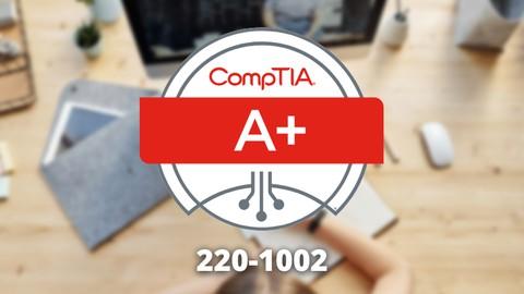 CompTIA A+ Core 2 (220-1002) Zertifikat 6 Übungsprüfungen