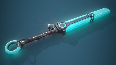 Моделирование стилизованного оружия в Blender 3D версия 2.9