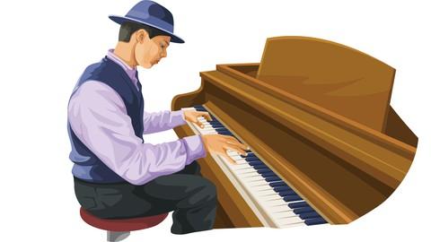 Curso de Piano/Teclado Fácil e Prático para Iniciante