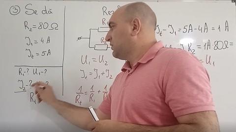 Rezolvarea problemelor de fizică. Circuite electrice.