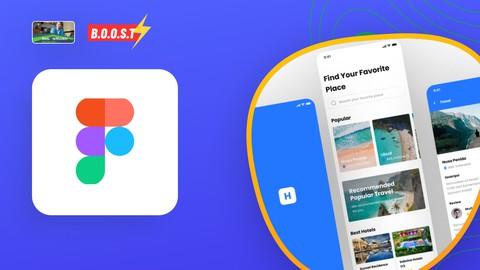 Complete UI Design Figma Holiday App