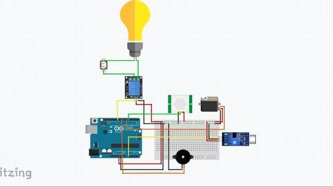 Fritzing Üzerinden İleri Seviye Robotik Kodlama