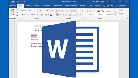 Aprende Microsoft Word con ejercicios prácticos