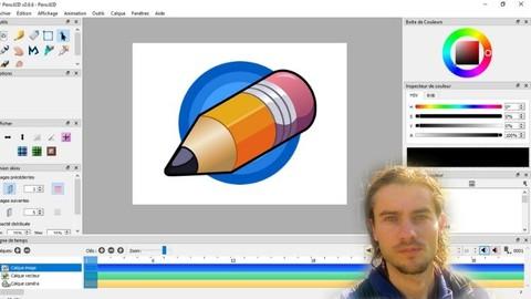 Pencil 2D créer des animations 2D