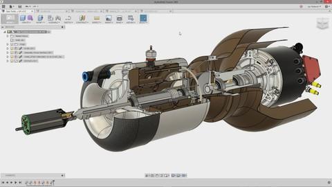 Aprende FUSION 360 CAD CAM 3D con Superficies Avanzadas