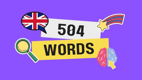 English Vocabulary: 504 Essential Words through 7 stages
