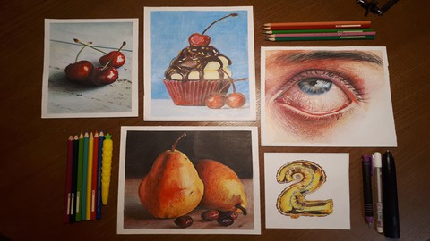 The Ultimate Colored Pencil Drawing Course