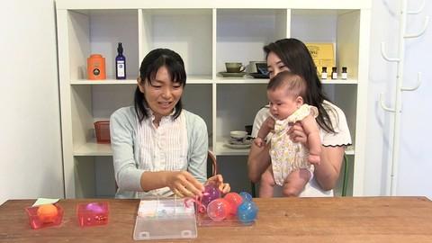 100円ショップなどで簡単に揃えられる、脳育手作りおもちゃ作り