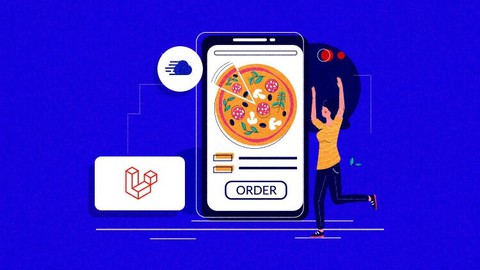 Project with laravel: pizza ordering web application