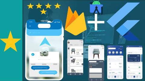 Flutter 2.5 course latest version 2021for mobile application