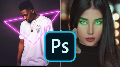 Neon + Glow Effects on Adobe Photoshop
