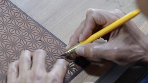 四百年の歴史 江戸小紋型彫りを学ぶ