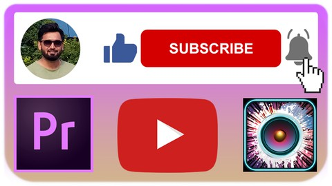 Adobe Premiere Pro: YOUTUBE Subscribe, Like & Bell Animation