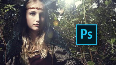 Creative Photoshop Portrait Retouching