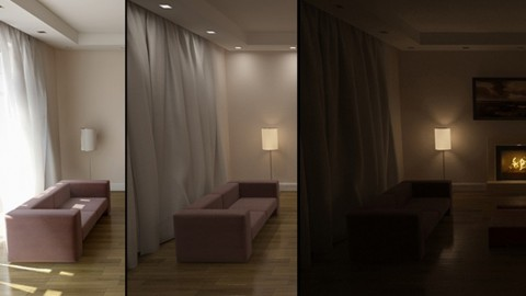 Interior lighting in 3DS Max and VRay