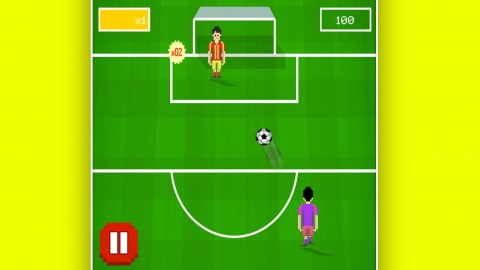 Make a Soccer game for iPhones and publish it. Code included