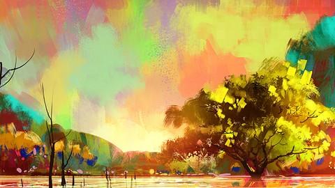 Paint Your First Digital Landscape using Corel Painter