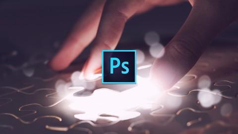 Photoshop 魔法のスーパテクニック No.11 超リアルなジグソーパズル