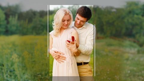 """Outdoor Engagement """"Love Story"""" Portrait Secrets"""