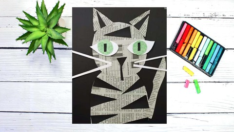 Mixed-Media Collage Workshop: Art Projects for Beginners