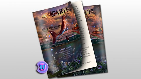 Digital Photo Manipulation Art And Cover Design In PhotoShop