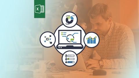 Excel 2016 PowerPivot, PowerQuery, PowerView & BI