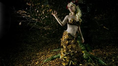 Autumn Nymph: Set Completo dallo Scatto alla Post Produzione