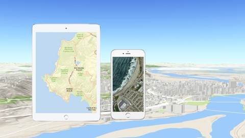 Deploy GIS Map and GPS to iOS App in Objective C and Xcode 7