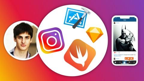 Develop Full iOS Instagram Clone App in Swift & Xcode