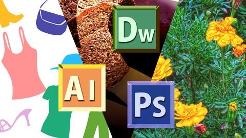 WEBデザイナーコース(必須アプリ基本機能操作習得パック)Adobe CC 2015版