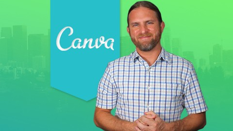Canva for Beginners - Create a Book Cover Graphic Design