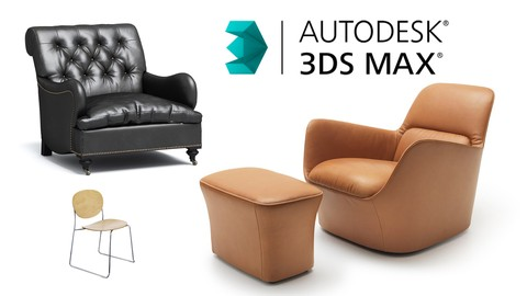 3ds max and Vray advanced course. Furniture modeling.
