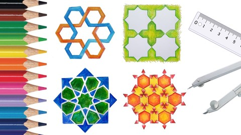 Draw Islamic Geometric Patterns With A Compass And Ruler