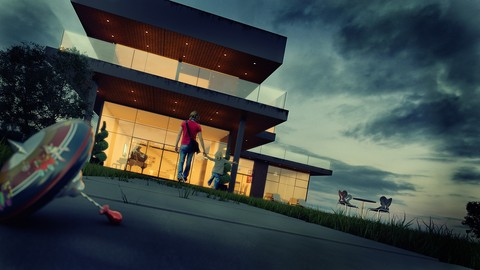 Architectural Post-production: From boring to brilliant !
