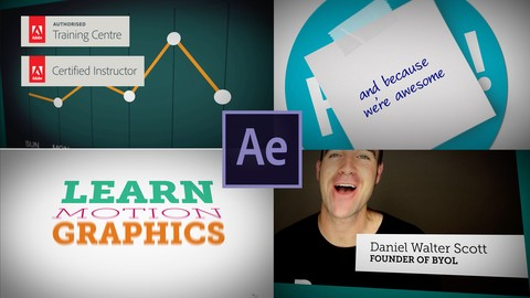 Adobe After Effects CC - Motion Graphics Design & VFX