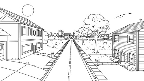 Creative Perspective Illustration