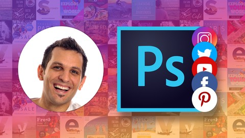 Design stunning Social Media Marketing Images with Photoshop