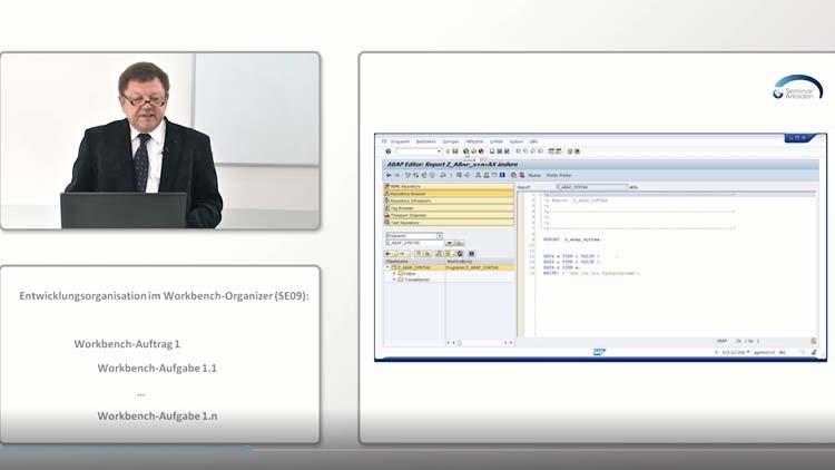 ABAP Workbench SAP Programmiersprache Teil 1