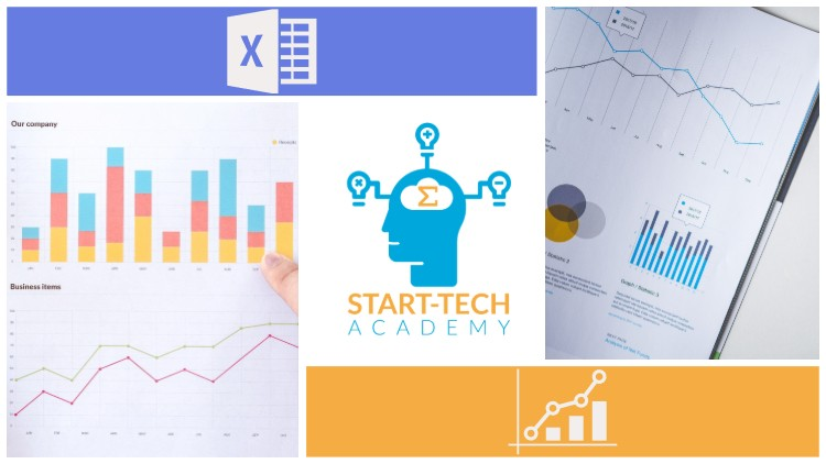 Excel Charts and Graphs : Master Data Visualization